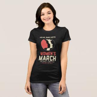 女性のマッチIEの細い切口のワイシャツ Tシャツ