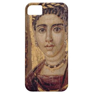 女性のミイラのポートレート、Fayumから、ロマノEgyp iPhone SE/5/5s ケース