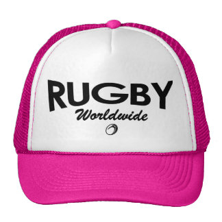 女性のラグビーのトラック運転手の帽子 トラッカー帽子