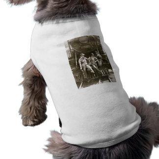 女性のロコモーティブの整備士1918 WWI ペット服