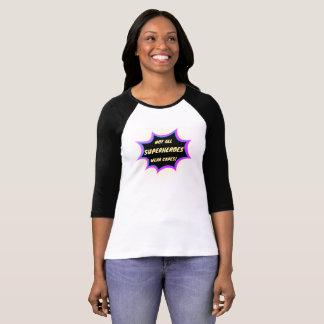女性のワイシャツ-スーパーヒーロー Tシャツ