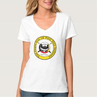 女性のワイシャツ Tシャツ