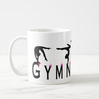 女性の体操のスポーツ コーヒーマグカップ