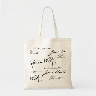 女性の作家 トートバッグ