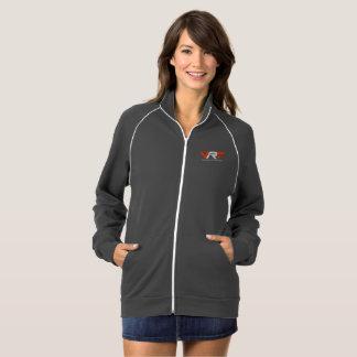 女性の公式の灰色VRTのMotorsportのジャケット ジャケット