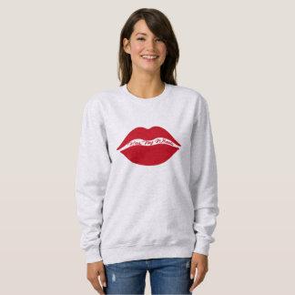 女性の基本的なスエットシャツ-私の車輪に接吻して下さい スウェットシャツ