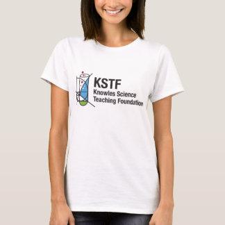 女性の基本的なTシャツ- KSTF: 中心 Tシャツ