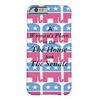 女性の場所 BARELY THERE iPhone 6 ケース