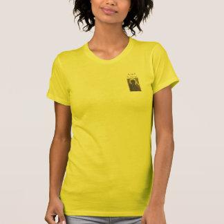女性の妊娠中絶反対の親結婚のTシャツ Tシャツ