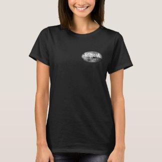 女性の幽霊の助手のTシャツ Tシャツ