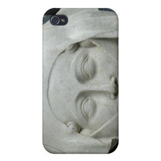 女性の彫像の頭部 iPhone 4 ケース