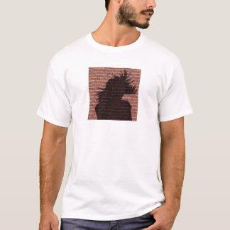 女性の影のシルエット Tシャツ