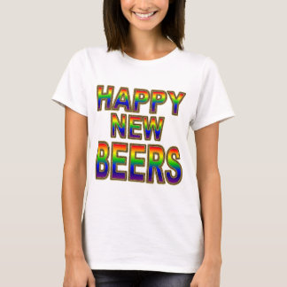 女性の新年のワイシャツ Tシャツ