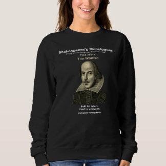 女性の暗い基本的なスエットシャツ スウェットシャツ