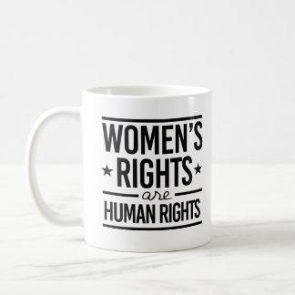 女性の権利は人権です- コーヒーマグカップ