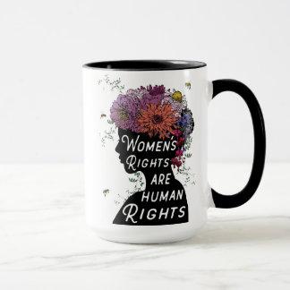 女性の権利は人権のコーヒー・マグです マグカップ