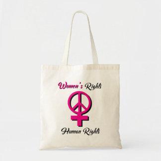 女性の権利は人権のトートバックです トートバッグ