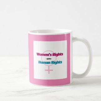 女性の権利は人権のマグです コーヒーマグカップ