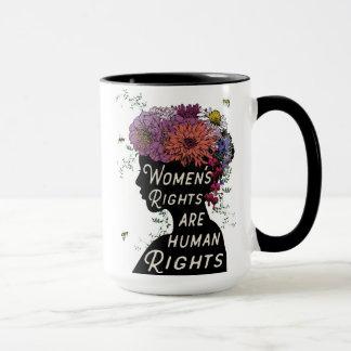 女性の権利は人権-コーヒー・マグです マグカップ