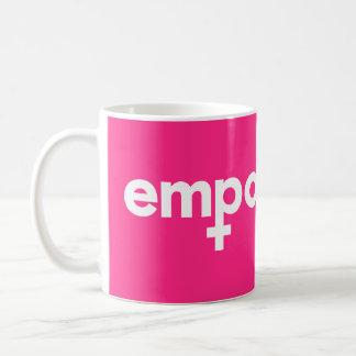 女性の権限委譲のマグ コーヒーマグカップ