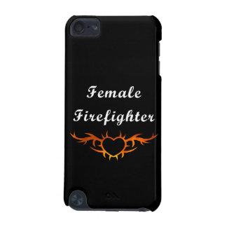 女性の消防士の入れ墨 iPod TOUCH 5G ケース