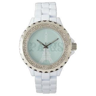 女性の真新しいエッフェル塔のパリの腕時計のギフト 腕時計