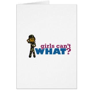 女性の空軍 カード