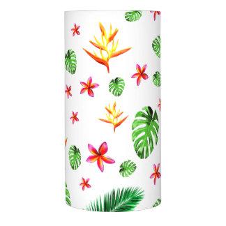 女性の粋な熱帯葉の花の家の装飾 LEDキャンドル