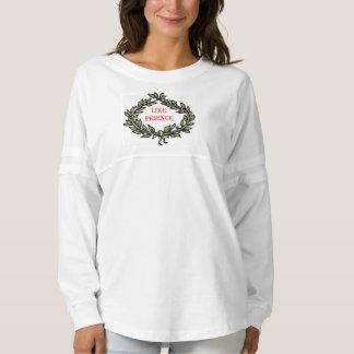 女性の精神のジャージーのカスタムなワイシャツ スピリットジャージー