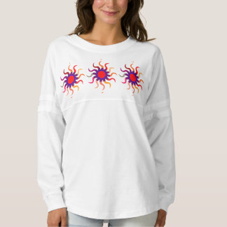 女性の精神のジャージーのワイシャツ9色の選択 スピリットジャージー