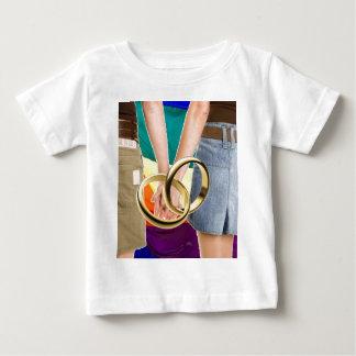 女性の結婚 ベビーTシャツ