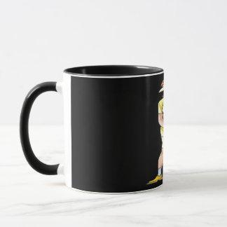 女性の置くこと マグカップ