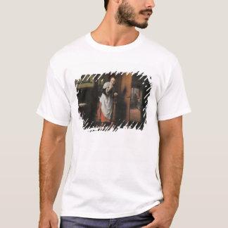 女性の聞くことの恋人 Tシャツ