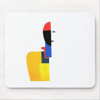 女性の胴の抽象美術 マウスパッド