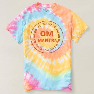 女性の螺線形の絞り染めのTシャツ2色のスタイル Tシャツ
