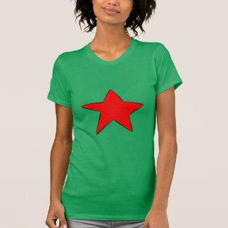 女性の衝突のTシャツ Tシャツ