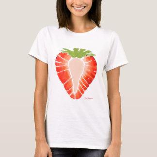 女性の衣服-いちごの秘密 Tシャツ