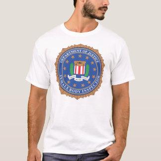 女性の身体の検査官 Tシャツ