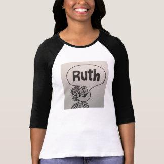 女性の長袖のルースのワイシャツ Tシャツ
