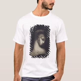女性の頭部 Tシャツ