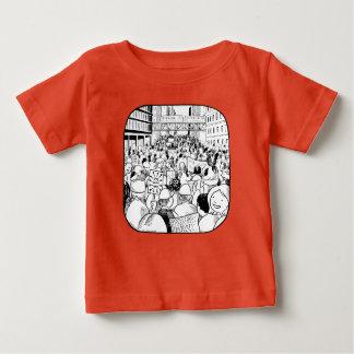 女性の3月シカゴの子供のティー ベビーTシャツ