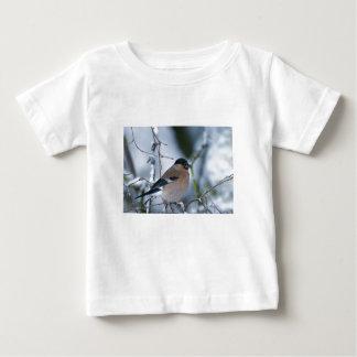 女性のBullfinchの乳児のTシャツ ベビーTシャツ