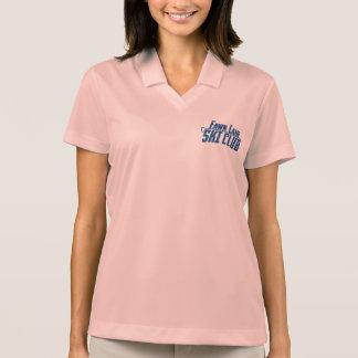女性のDri適合のポロ ポロシャツ