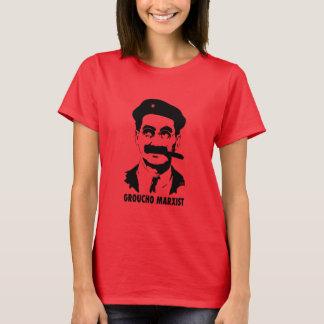 女性のGrouchoのマルクス主義者のTシャツ Tシャツ