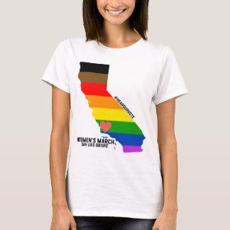 女性のLGBTQ 3月SLO - Tシャツ