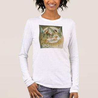 女性のLongsleeveのTシャツ: Excelsis Deoのグロリア 長袖Tシャツ