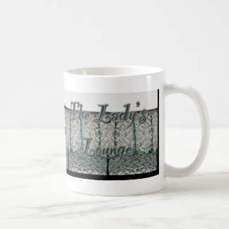 女性のLounge Mug コーヒーマグカップ