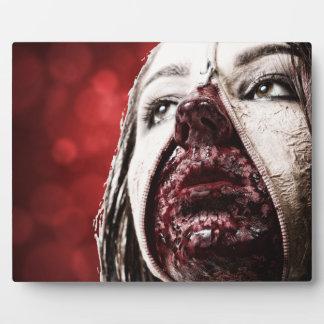 女性のmakupの血 フォトプラーク