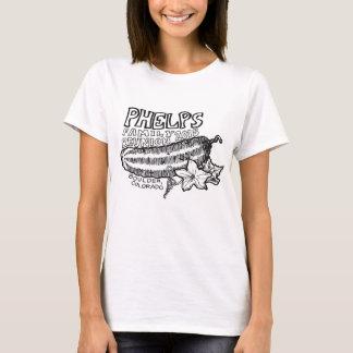 女性のPhelpsの家族会のTシャツ Tシャツ