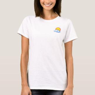 女性のSwaleの天候のTシャツ Tシャツ